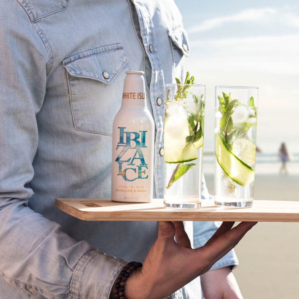 Ibiza Ice - Branding - Fotografie - Social Media - Dienblad