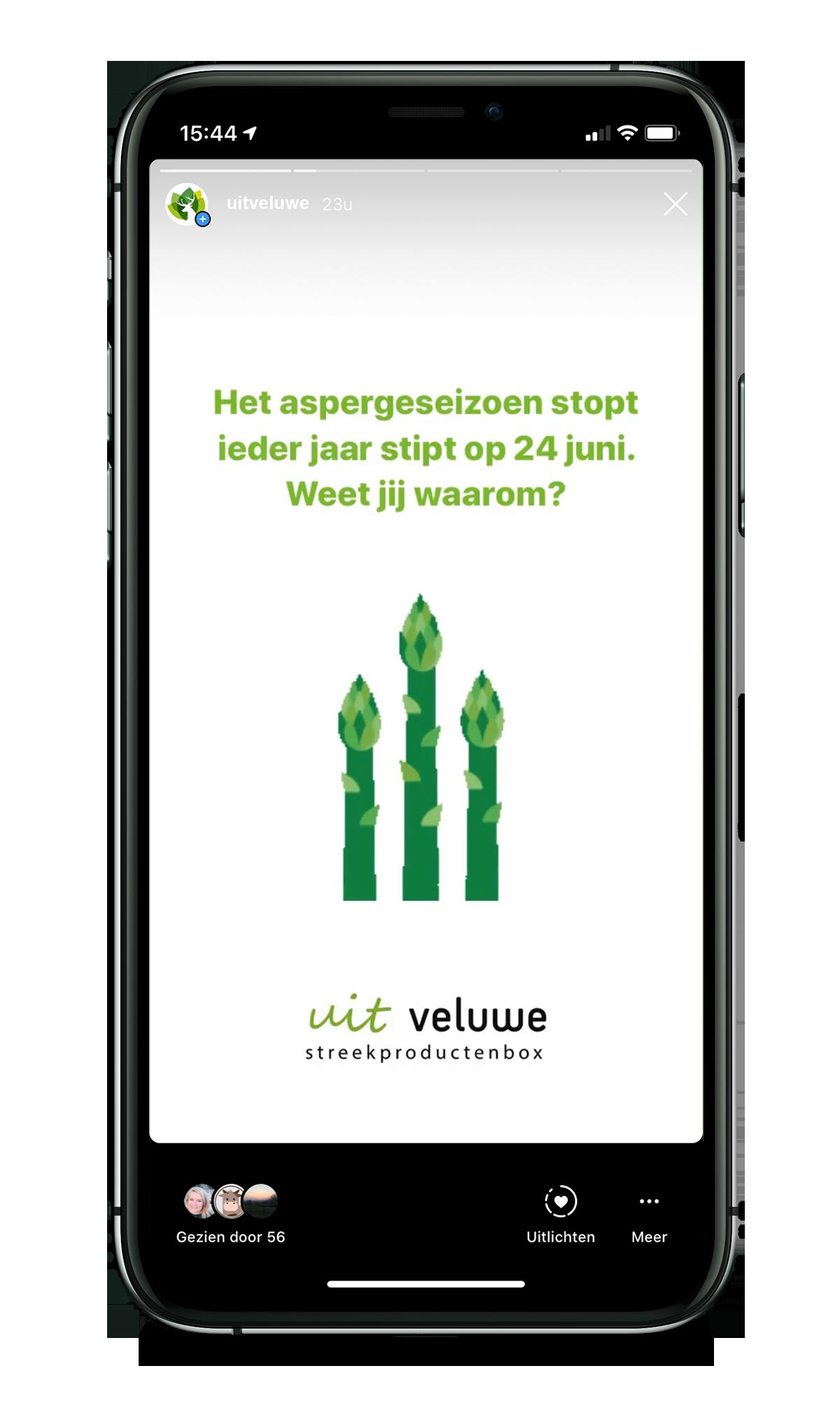Uit Veluwe - Social Media Toolkit - Story 2 - Weetje