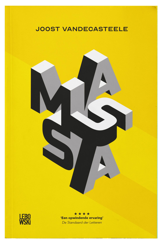 Lebowski Publishers - Joost Vandecasteele - Massa - Boekomslag Voor