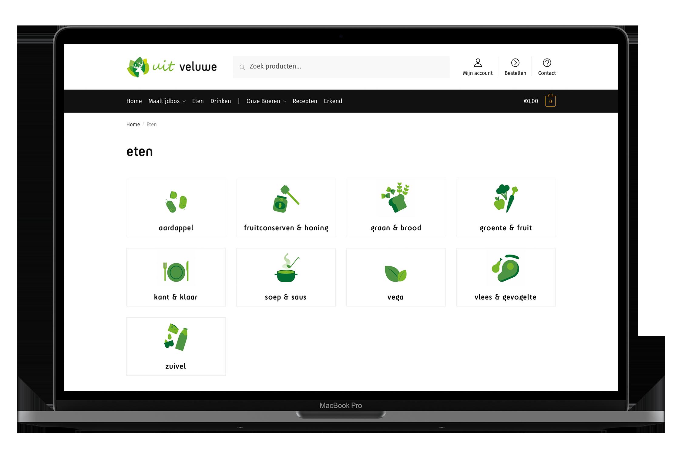 Uit Veluwe - Webshop - Product Categorieën - Iconen - Illustratie