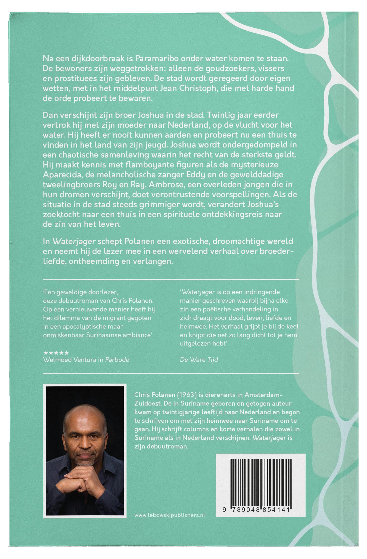 Lebowski Publishers - Chris Polanen - Waterjager - Boekomslag Achter