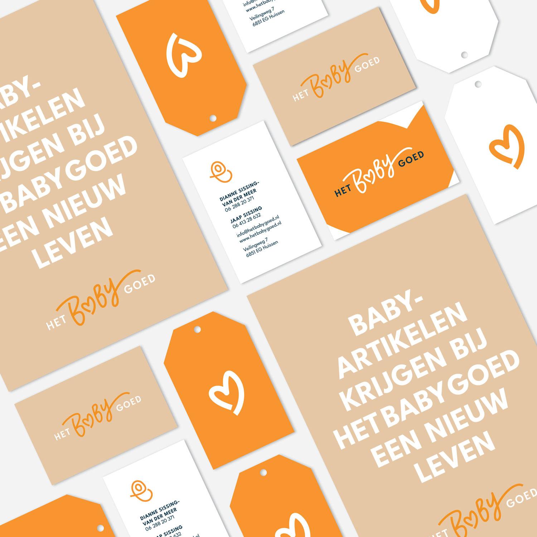 HetBabyGoed - Branding - Visitekaartjes - Flyer